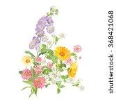 bouquet of flowers   Shutterstock . vector #368421068