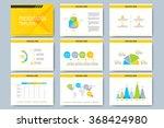 set of vector templates for... | Shutterstock .eps vector #368424980
