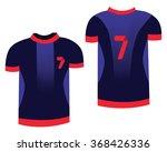 soccer sports uniform. t shirt... | Shutterstock . vector #368426336