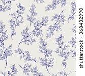 seamless pattern of sketch... | Shutterstock .eps vector #368432990