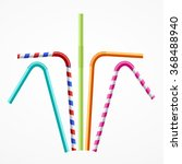Colorful Drinking Straws Set...