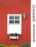 the windows and red wood... | Shutterstock . vector #368492423