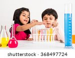 4 year old indian boy and girl... | Shutterstock . vector #368497724
