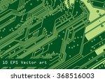 vector microchip | Shutterstock .eps vector #368516003