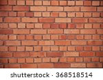 brick wall  background of brick ... | Shutterstock . vector #368518514