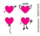 Valentine's Day Heart Stickers...