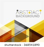 vector triangle background | Shutterstock .eps vector #368541890