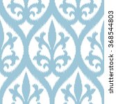 faux tribal fabric damask...   Shutterstock .eps vector #368544803