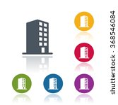 building icon | Shutterstock .eps vector #368546084