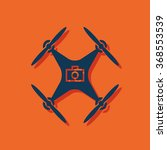 photo drone copter vector icon | Shutterstock .eps vector #368553539