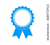 medallion icon. flat design... | Shutterstock . vector #368572913