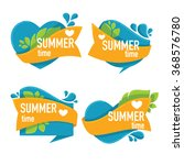 summer time  vector collection...   Shutterstock .eps vector #368576780