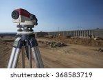 land meter standing in focus... | Shutterstock . vector #368583719