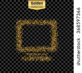 gold glitter vector icon of...   Shutterstock .eps vector #368597366