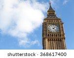 Close Up Big Ben Clock Face ...