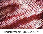 detail of the futuristic red... | Shutterstock . vector #368620619