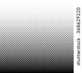 halftone squares pattern.... | Shutterstock .eps vector #368629220