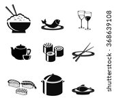set food japan | Shutterstock .eps vector #368639108