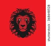 lion head  vector illustration | Shutterstock .eps vector #368648528