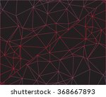 abstract outline of polygon... | Shutterstock .eps vector #368667893