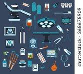 dentistry  surgery  medical... | Shutterstock .eps vector #368678909