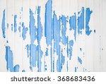 blue ridged metal wall texture...   Shutterstock . vector #368683436