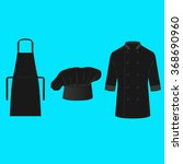 chef and cook clothing vector | Shutterstock .eps vector #368690960