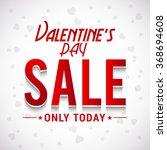 valentine's day celebration ... | Shutterstock .eps vector #368694608