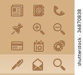 Vector Blog Icons Set 1