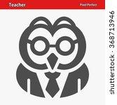 teacher icon. professional ... | Shutterstock .eps vector #368713946