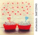 meringue cake valentine day... | Shutterstock . vector #368725943