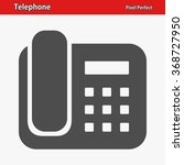 telephone icon. professional ...   Shutterstock .eps vector #368727950