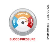 high blood pressure concept... | Shutterstock .eps vector #368730428