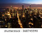 beautiful downtown chicago... | Shutterstock . vector #368745590