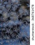 marvellous patterns on frosty...   Shutterstock . vector #368761478