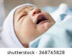close up of a photo of a sleepy ... | Shutterstock . vector #368765828