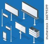 billboards and outdoor... | Shutterstock .eps vector #368795399