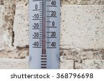 Display Of Temperature On The...