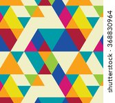 seamless pattern with... | Shutterstock .eps vector #368830964