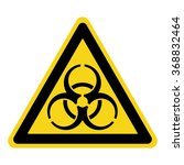 biohazard sign. symbol of... | Shutterstock . vector #368832464