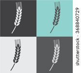 wheat icon. logo | Shutterstock .eps vector #368840729