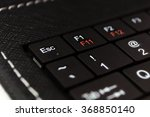 part of black keyboard laptop... | Shutterstock . vector #368850140