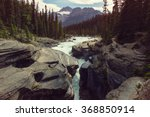 Scenic Views Of The Athabasca...