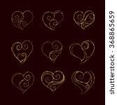 abstract vector illustration of ... | Shutterstock .eps vector #368865659