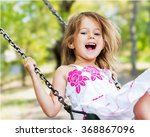 child playing. | Shutterstock . vector #368867096