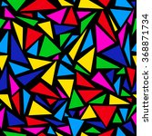 abstract triangle pattern | Shutterstock .eps vector #368871734