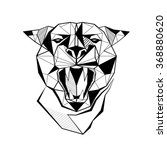 Panther Stylized Triangle...