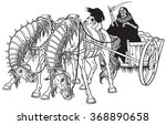 Grim Reaper In A Cart Of Death...