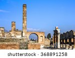 Pompeii  Naples  Italy. Ancien...