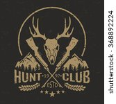 Vector Hunting Club Emblem...